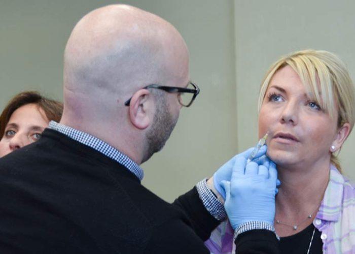 botox training patient