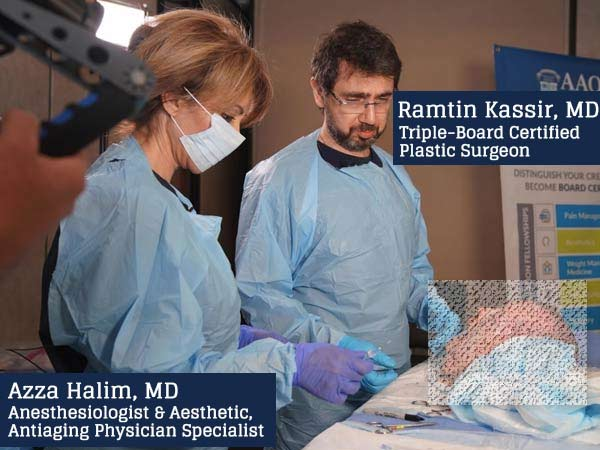 Dr. Ramtin Kassir - Facial Anatomy Training