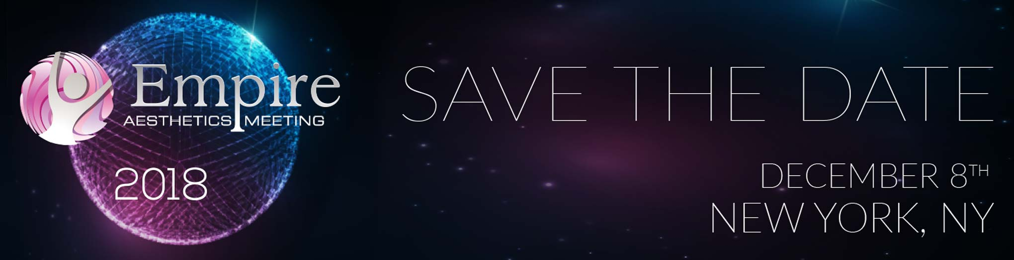 Banner of Save the Date for EAM Event