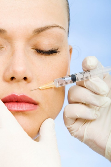Neurotoxin Injection of perioral area