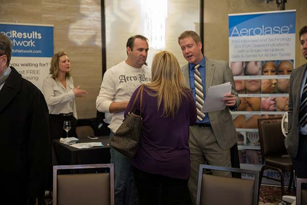 Aerolase representation at the Cosmetic Laser Training Course