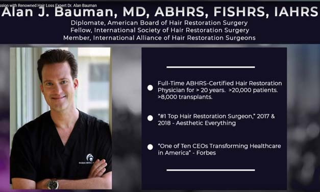 Case Studies on Hair Loss with Dr. Alan Bauman