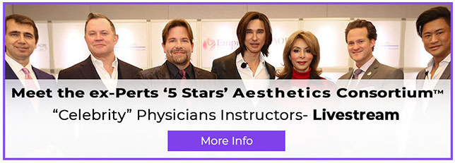 Meet the Experts 5 stars aesthetic consortium