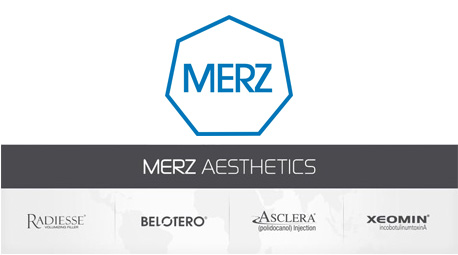 Merz Aesthetics Logo and Product Offering