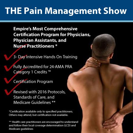 Pain Management Training