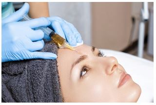 Facial Application for Platelet Rich Plasma